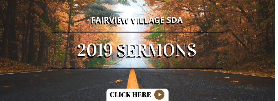 Sermons - Fairview Village Seventh Day Adventist Church